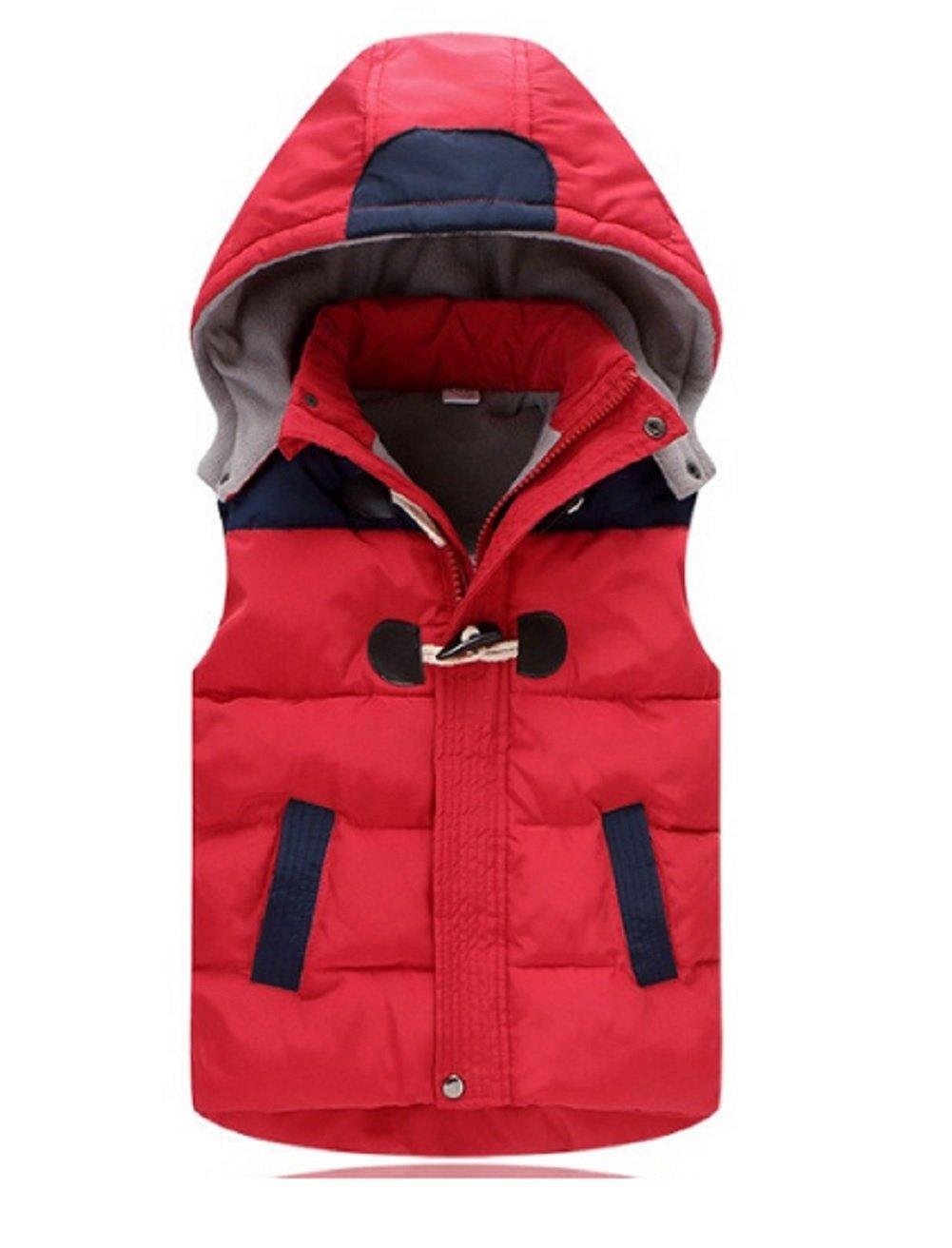 Koo-T Boys Gilet Body Warmer Hooded Sleeveless Coat Down Winter Age Size