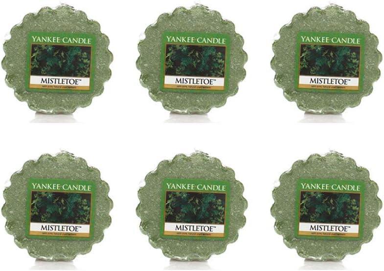 Yankee Candle ~ Wax Melt Tarts ~ Package Of 6 (Mistletoe)