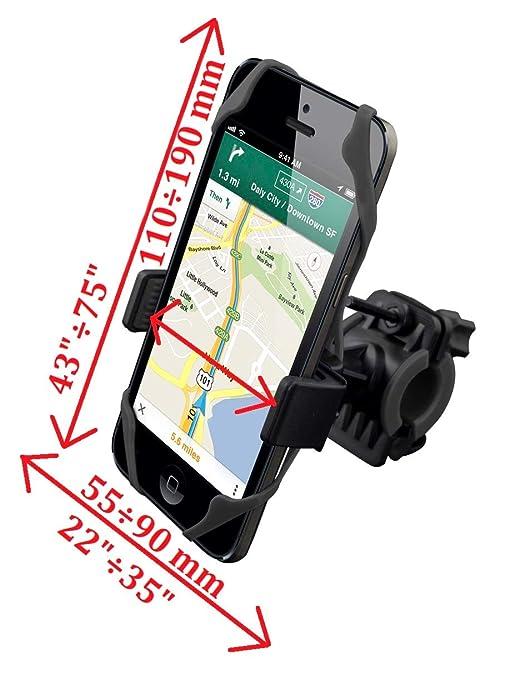 Funda Móvil GPS para Bicicleta Soporte Smartphone Bici con ...