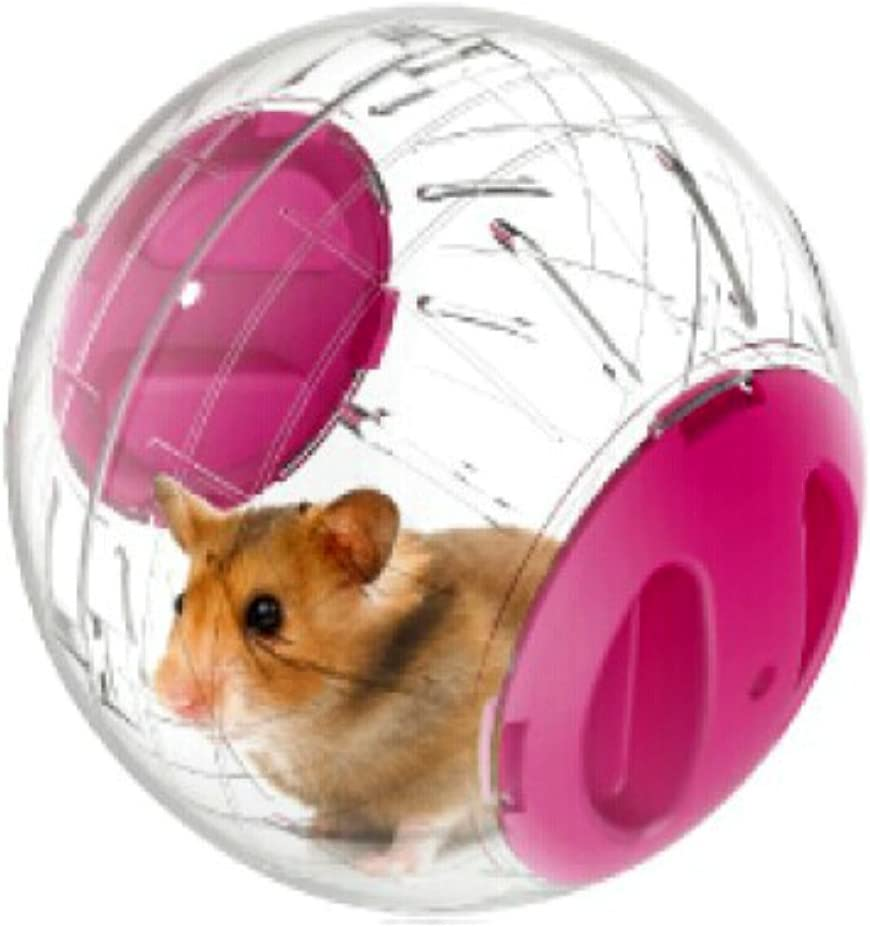 Emours Run - Bola de ejercicio para hámster o animal pequeño, Mini, 12 cm