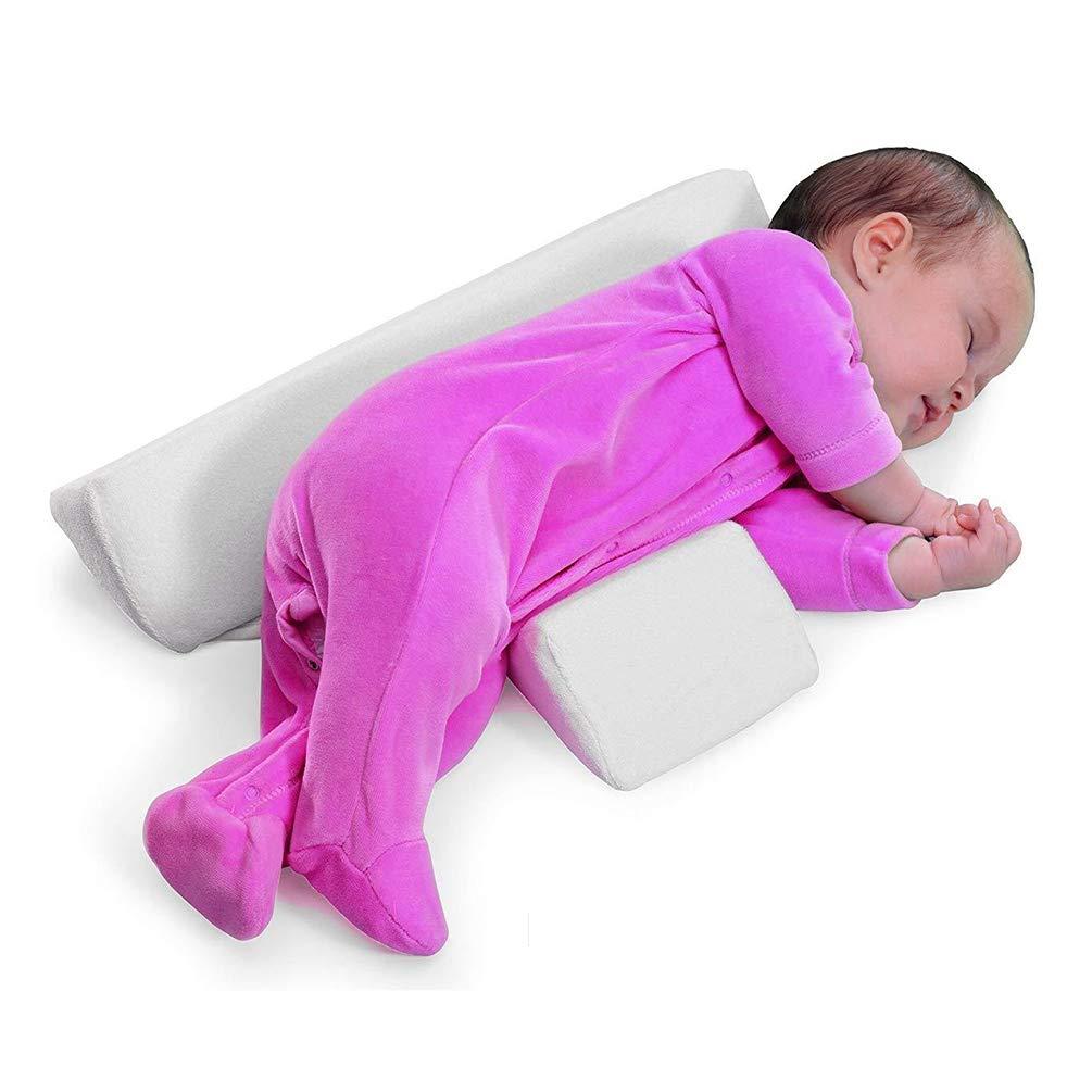Baby Kissen Anti Roll Abnehmbare Verstellbare Bequeme Babyrolle Verhindern Lykke DASS Baby Milch Taille Unterst/ützung f/ür Baby Spuckt
