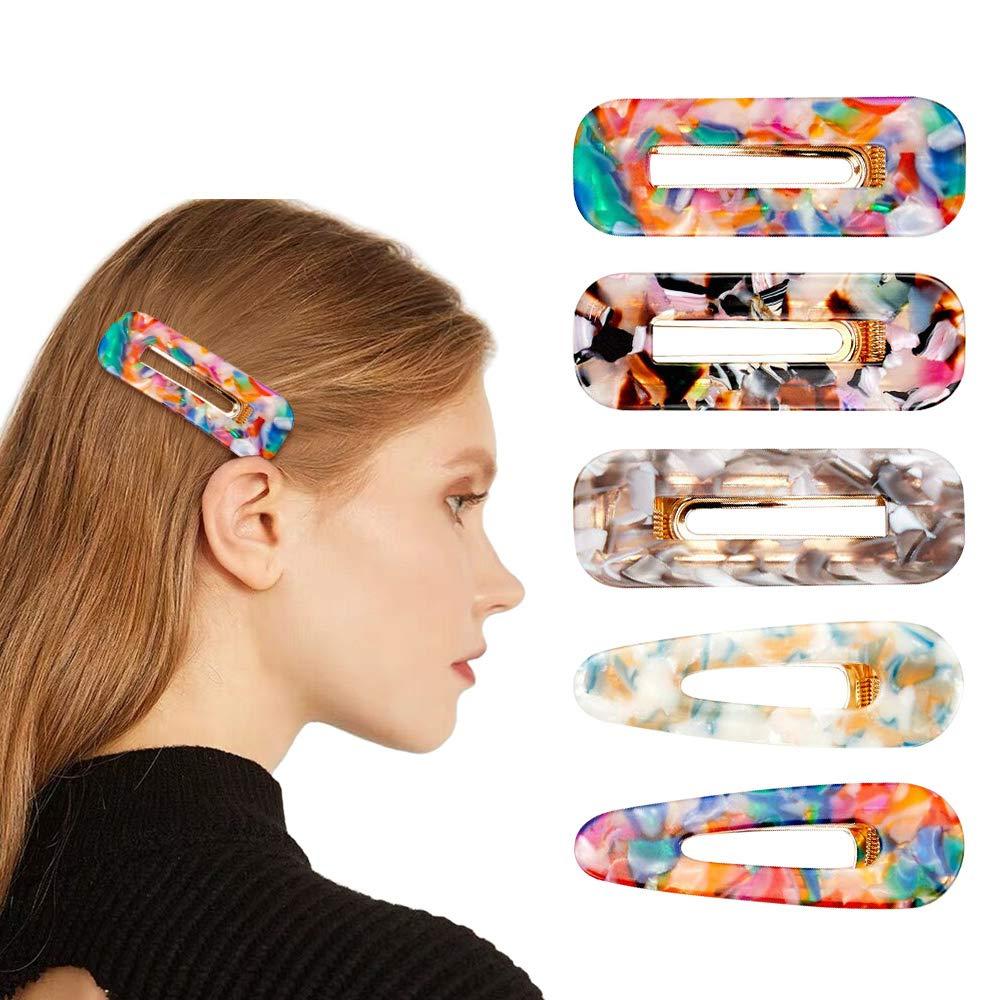 12pcs//Pack Black Hair Clips Girls Hairpins Barrettes Headbands Women Hairgrips