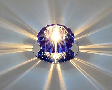 BOBE SHOP- Creative Crystal LED Deckenleuchte Scheinwerfer, Moderne ...