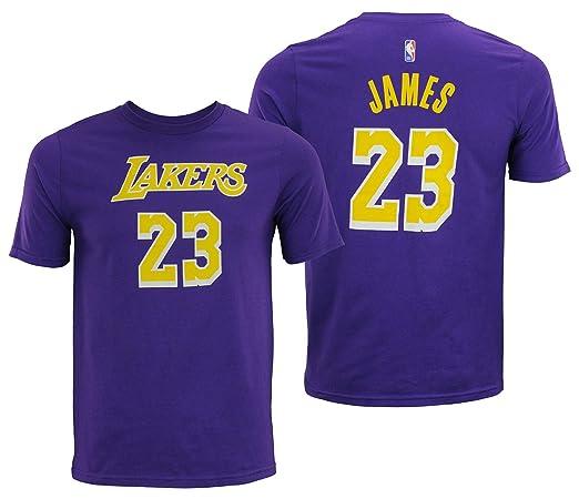 aee3620cf28 Amazon.com   NBA Youth Los Angeles Lakers Lebron James Player Tee ...