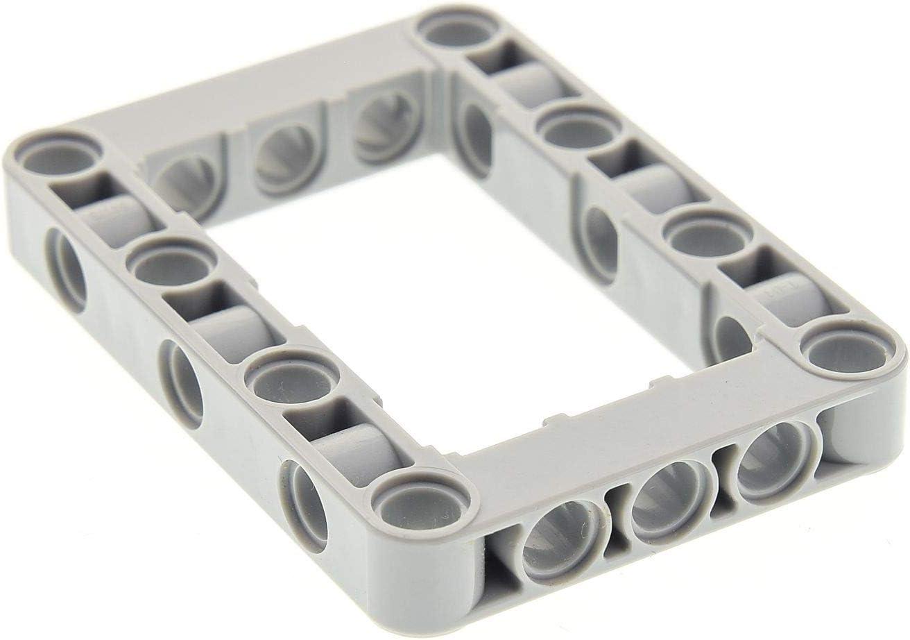 1x Lego Technic Bau Rahmen Stein neu-hell grau 6x8 Lochstein 4211848 40345 32532