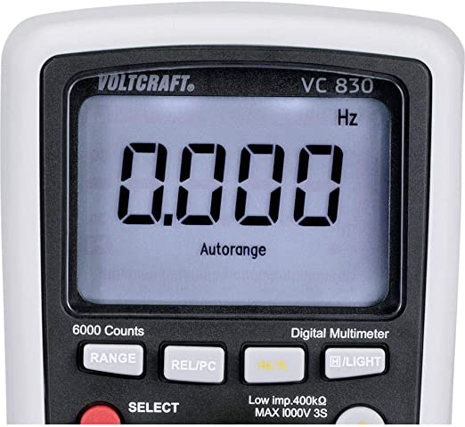 Voltcraft Vc 830 Dmm Auto