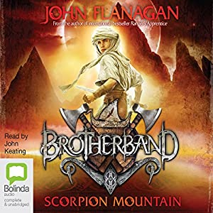 Scorpion Mountain: Brotherband, Book 5 Audiobook