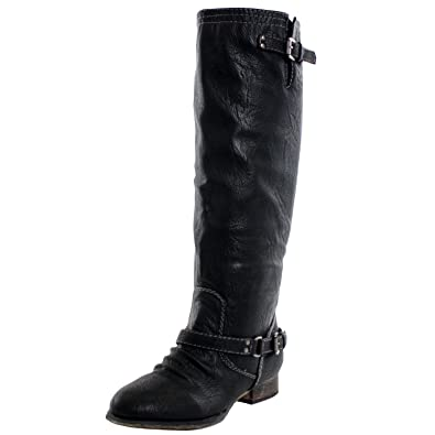Amazon.com | Breckelles Outlaw-81 Riding Boots | Knee-High