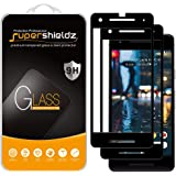 (2 Pack) Supershieldz Designed for Google (Pixel 2) Tempered Glass Screen Protector, (Full Screen Coverage) 0.33mm, Anti Scra