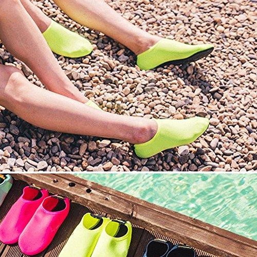 Plage Chaussettes Exercice Chaussures Jiasuqi Swim Nautiques Surf Sports De Nus Enfants Peau Aqua Yoga Pour Classique Hommes Bleu Pieds nxOxC7