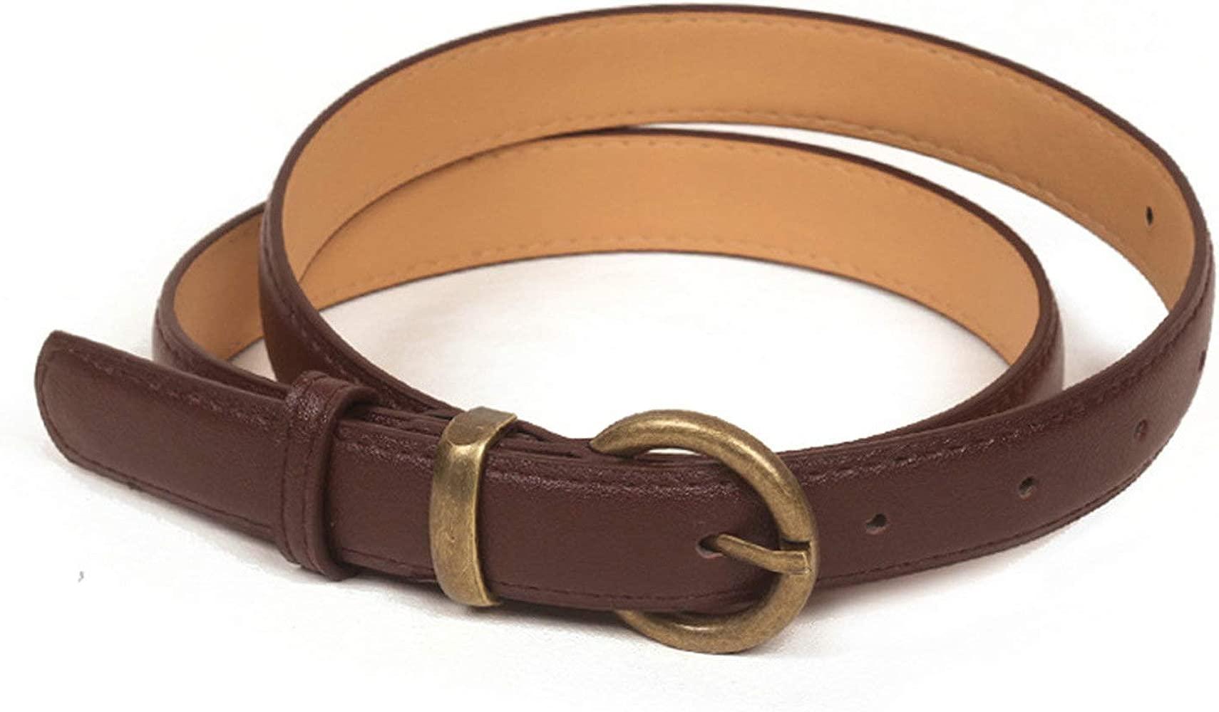 ROMQUEEN Cinturón de Piel para Mujer Cinturones de Mujer ...