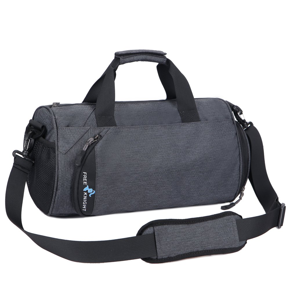 001d1b704c3 Amazon.com   Gym Sports Small Duffel Bag for Men and Women with Shoes  Compartment Multifunctional Trave   Sports Duffels