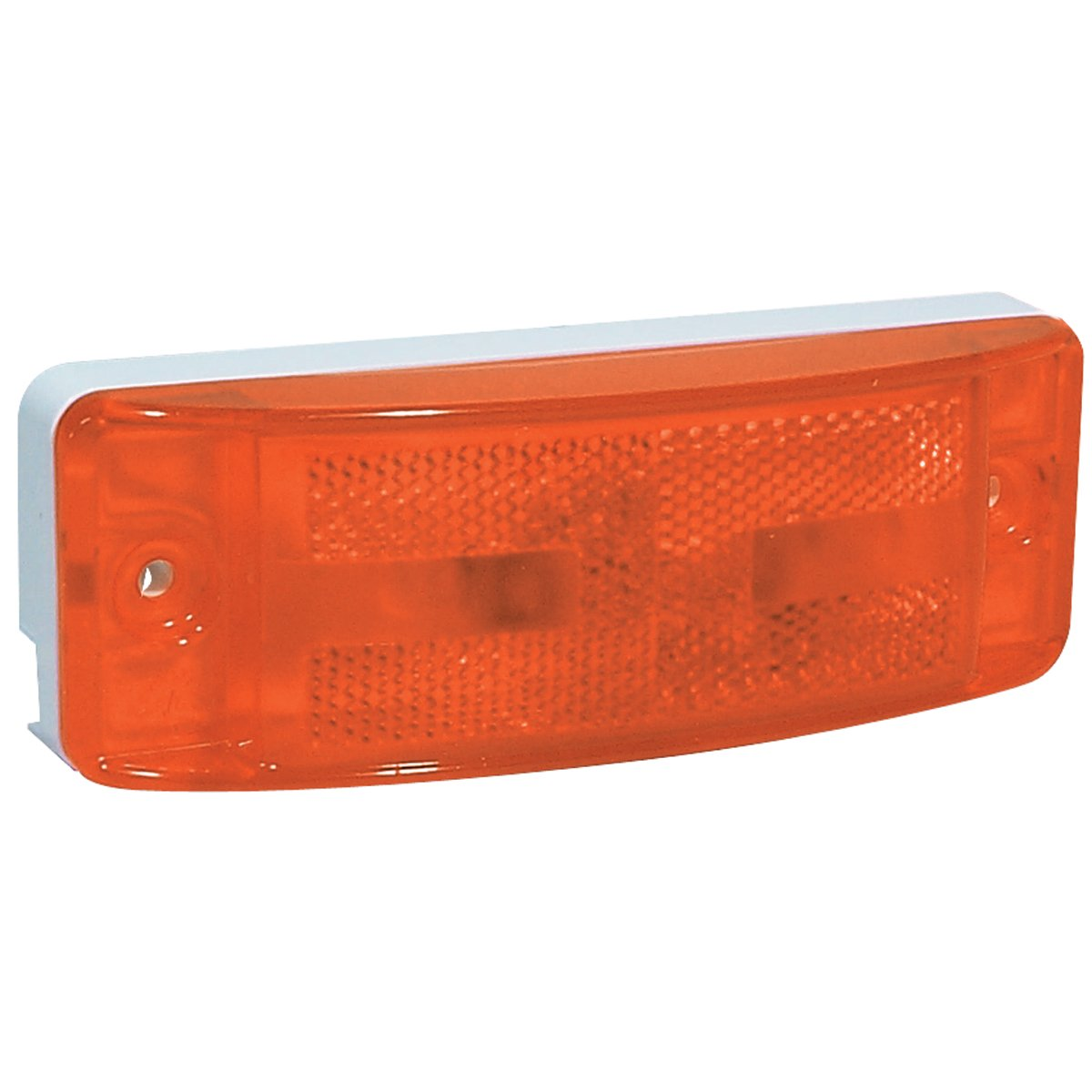 RoadPro RP-46873 Amber 6 x 2 Light with 2-Prong Grote Connector