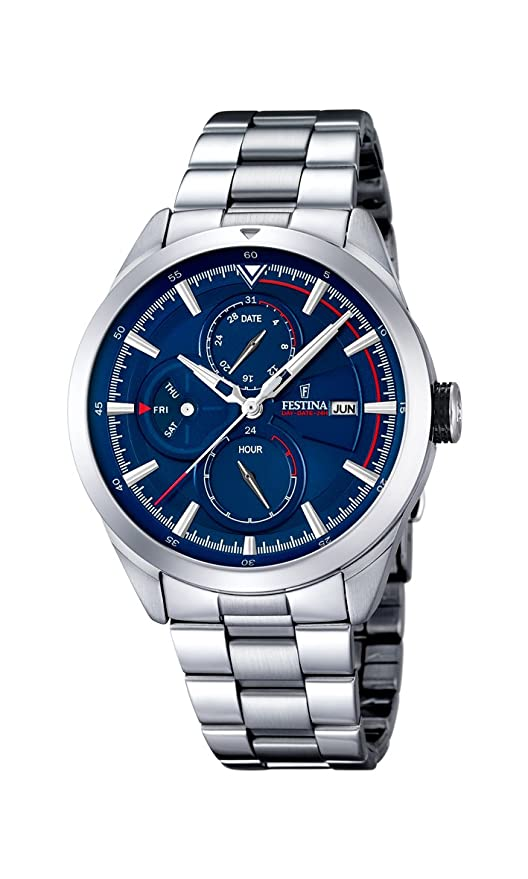 Amazon.com: Festina Sport F16828/2 Mens Wristwatch very sporty: Festina: Watches