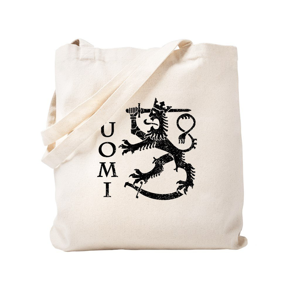 CafePress - Suomi Coat Of Arms - Natural Canvas Tote Bag, Cloth Shopping Bag