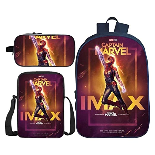 Backpack Avengers League Captain Marvel Mochila para Niños ...