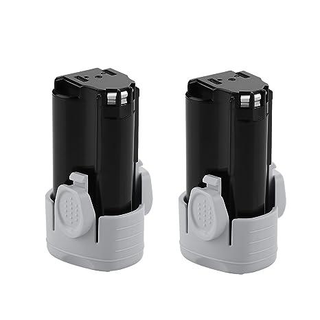 Energup 2Pack 2500mAh 12 Volt Lithium ion Replacement Battery for Black & Decker LBXR12 LBX12 BL1510