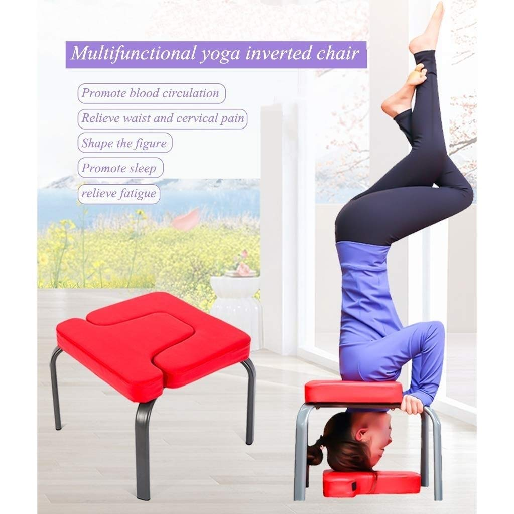 DaQingYuntur Silla de inversión de Yoga Headstand Bench ...