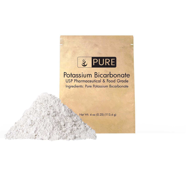 Bicarbonato de potasio (4 oz) De ingredientes orgánicos ...