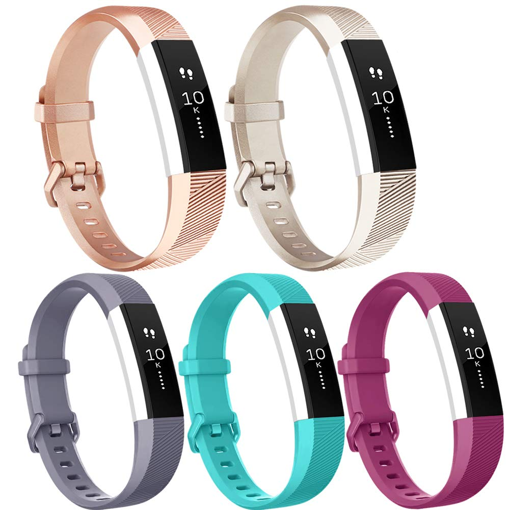 Vancle Bands for Fitbit Alta and Fitbit Alta HR 5 Pack