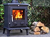 Saltfire Oslo Eco Multifuel Woodburning Stove DEFRA Approved