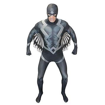 Morphsuits Black Bolt Disfraz de Disfraz de Adulto - Tamaño ...