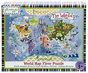 Gibby & Libby The World Around Me Map Puzzle by C.R. Gibson