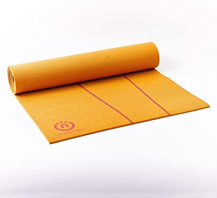 Amazon.com: Natural eco-smart de fitness yoga mat: Sports ...