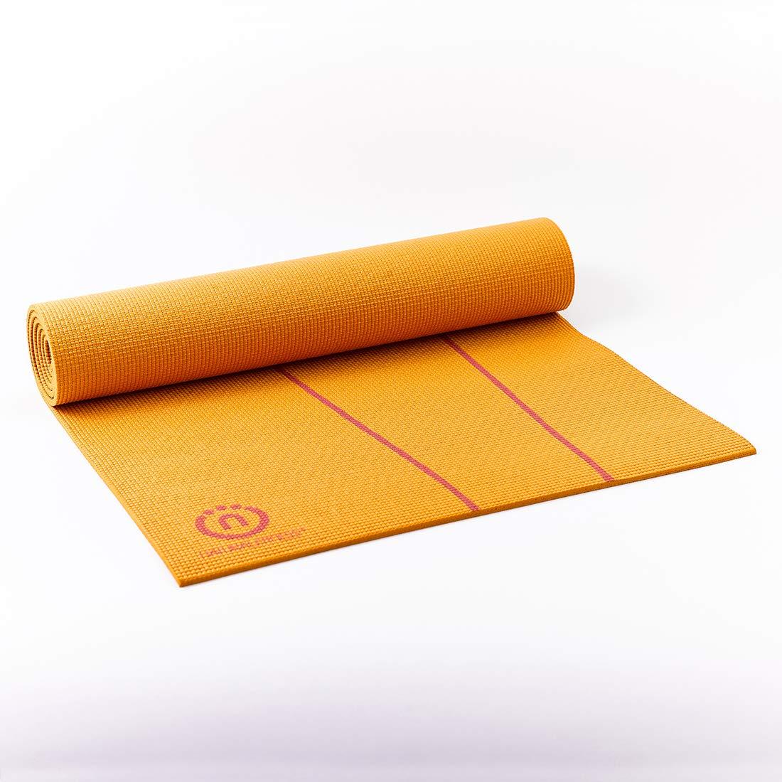Natural Fitness - Esterilla de Yoga Eco Smart, Naranja/Red ...