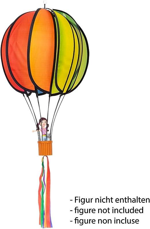 lenght 48 cm spiral: /Ø 10 cm Satorn Balloon RAINBOW TWIST balloon: /Ø 28 cm lenght 75 cm weatherproof including ball bearing suspension MIC CIM Wind Spinner