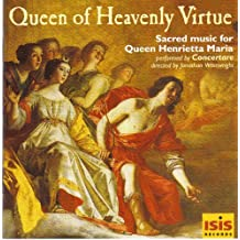 """Baroque Music for Henrietta Maria's Chapel in Oxford """"Queen of Heavenly Virtue"""" / Wainwright"""