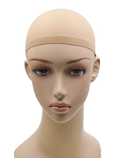 Pelucas tapas para las mujeres blancas baratas peluca tapas de desgaste suave (1 Paquete)