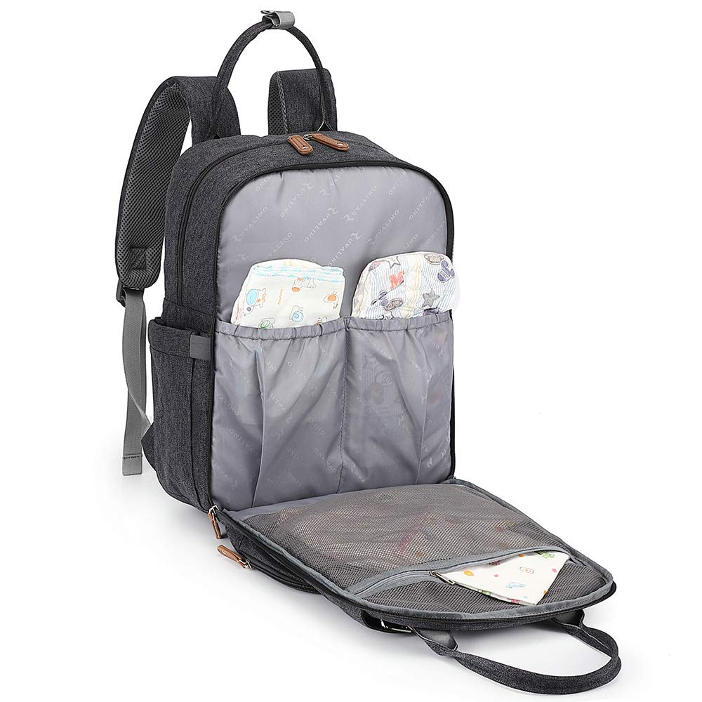 Baby Diaper Bag Nappy Back Pack with Changing Mat for ... Changing Bag Backpack