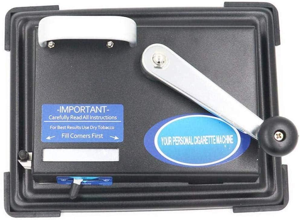 QAZX Cigarrillo con ruedas Cigarrillo de metal completo Automático Fabricante de cigarrillos eléctrico Hogar Buen efecto Relleno de humo Manual Extractor de cigarrillos semiautomático