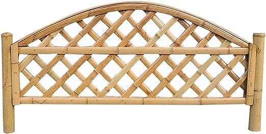 ZENGAI-vallas De JardíN Cercados Cerca Cerca del Borde Cortar Bambú Barandilla Patio Al Aire Libre Decoracion Jardin Fácil De Instalar 3 Estilos (Color : A, Size : 130x80CM): Amazon.es: Jardín