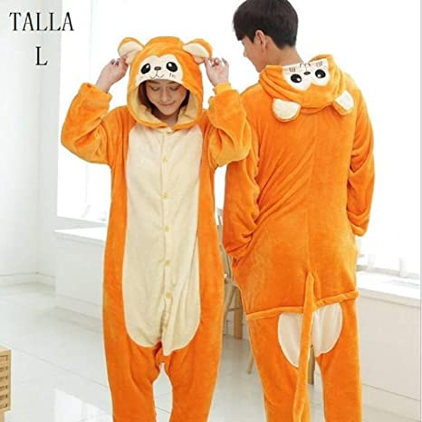2d6d45e0e6 KRAZY TOYS Pijama Animal Entero Unisex para Adultos como Ropa de Dormir- Traje de Disfraz