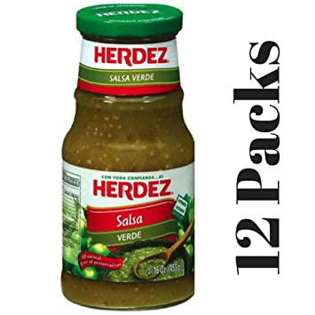 Herdez Salsa Verde, 16 oz. (Pack of 12)