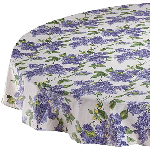 Lilac Table Cover - Fresh Lilac Premium Vinyl Table cover 60