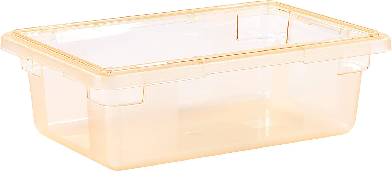 Carlisle 10611C22 StorPlus Color-Coded Food Box Storage Container Only, 3.5 Gallon, 18