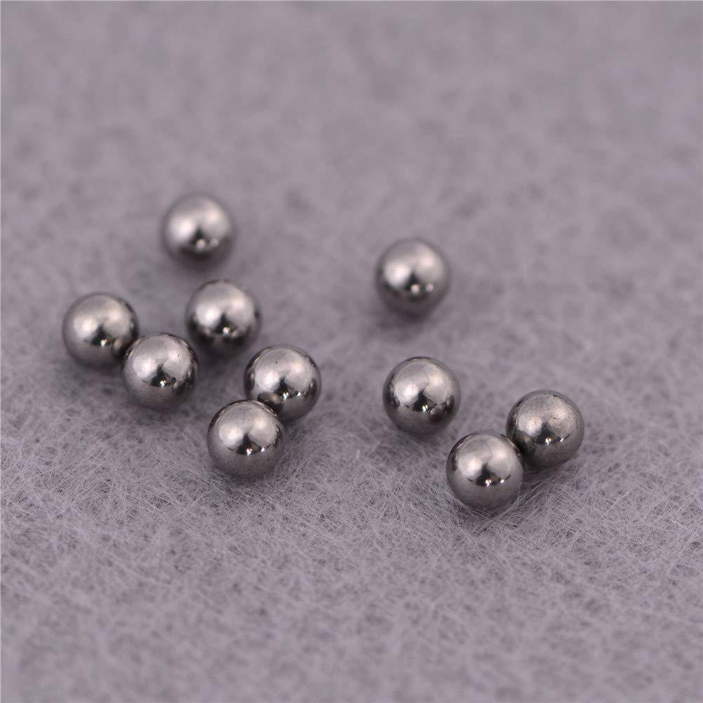 Ochoos 10 Pcs Good Deal 2-10mm Dia Bicycle Steel Bearing Ball Replacement Wholesale Diameter: 10mm