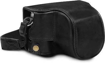 Megagear Mg1605 Leica D Lux 7 Ever Ready Echtleder Kamera
