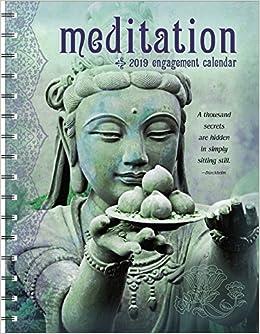 meditation 2019 engagement datebook calendar