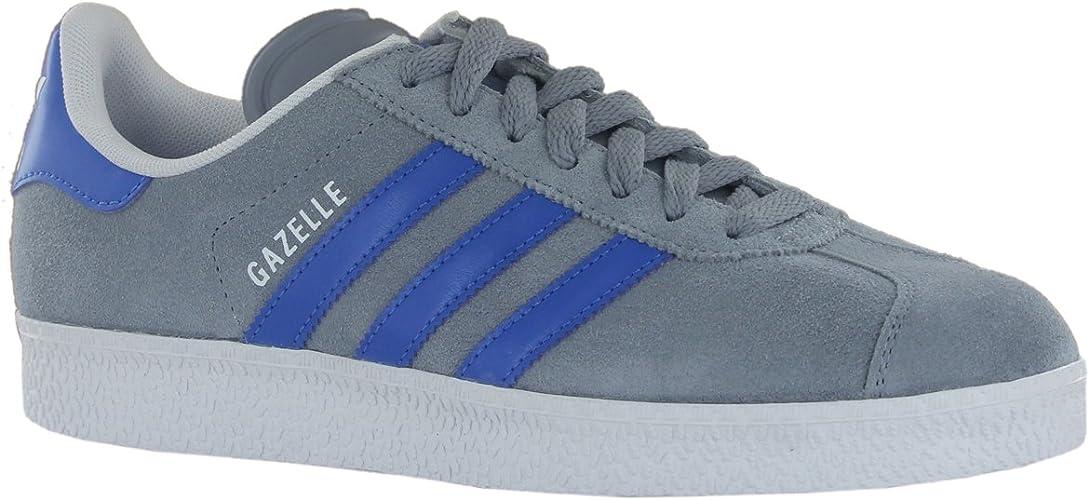 charla oveja estoy feliz  Adidas Gazelle 2 Grey Blue Mens Trainers Size 8 UK: Amazon.co.uk: Shoes &  Bags