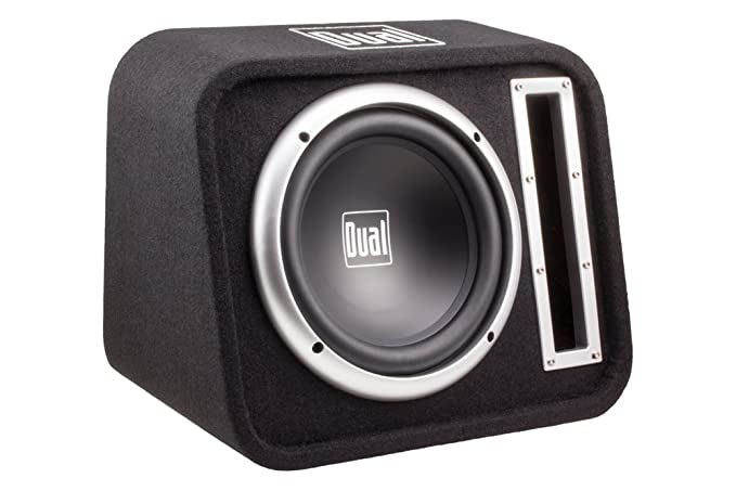 Dual Electronics SBX100 10 inch Studio Quality High Performance Vented  Enclosed Subwoofer with 500 Watts of Peak Power