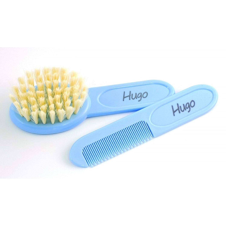 Azul Cepillo y peine personalizado BOANN