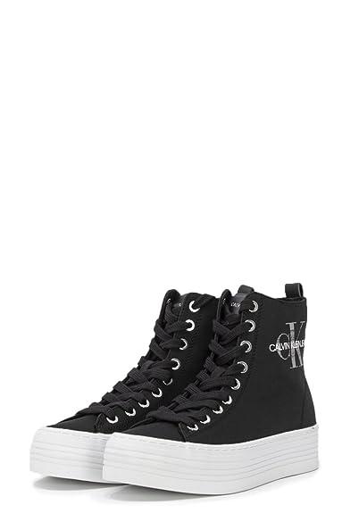 Calvin Klein - Zapatillas de Nailon para Mujer * *, Color Negro, Talla 35