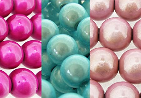8mm /& 10mm sizes and many colours to choose from 6mm Miracle Beads