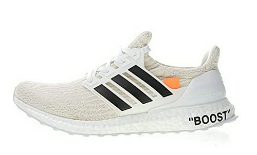 10b9b71f7a1bb NEWVIPS off White x Ultra Boost 3.0 Beige Running Shoes Scarpe da Corsa  Uomo Donna  Amazon.it  Scarpe e borse
