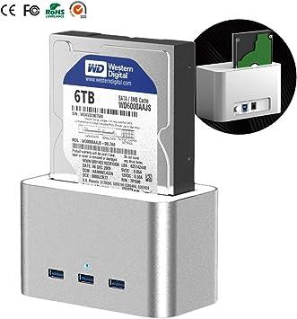 3.5/2.5 Pulgadas Caja de Disco Duro Externo USB3.0 Transmisión de ...
