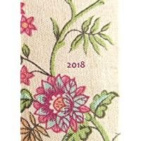 MY BIG FAT CALENDAR 2018 - FLOWERS (Great Britain): 1 day per page, DIN A4